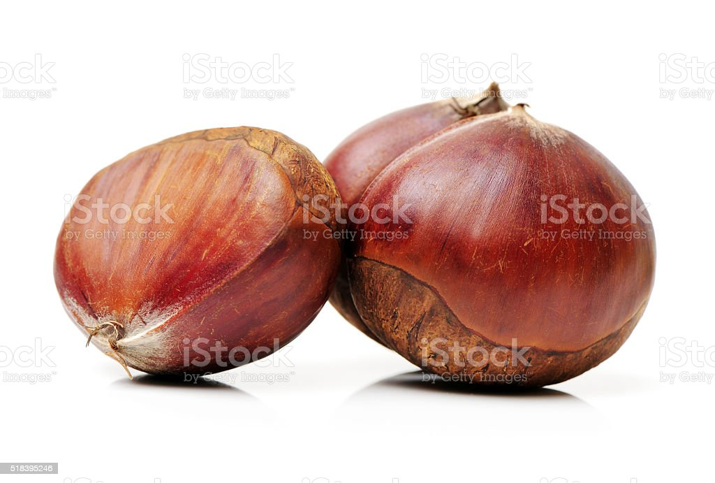 Small group of Chestnut stock photo