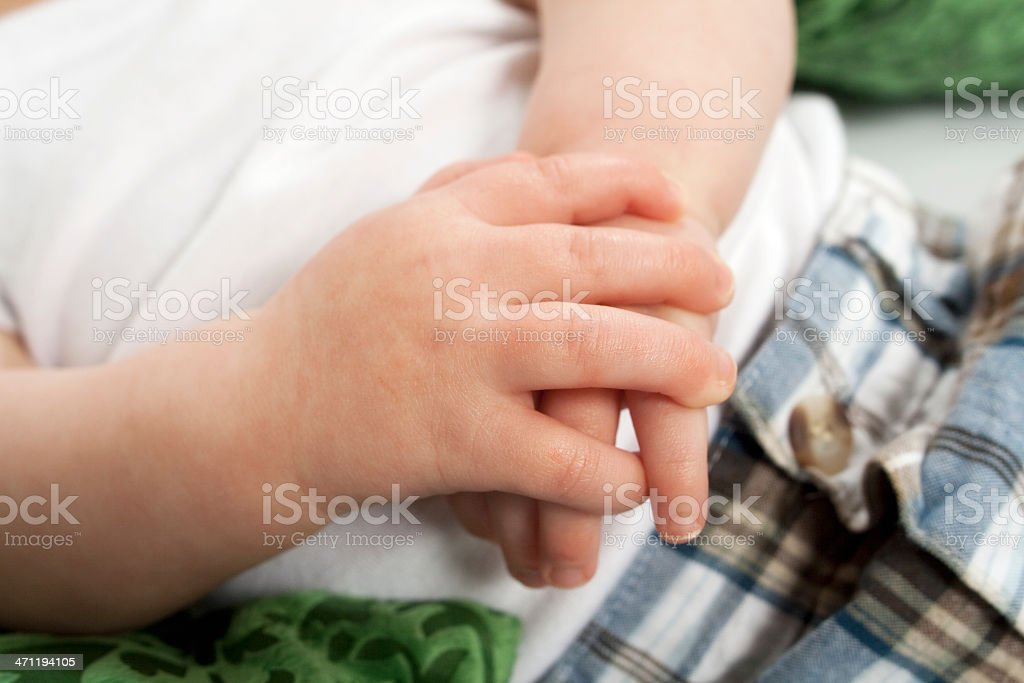 Small Hands royalty-free stock photo