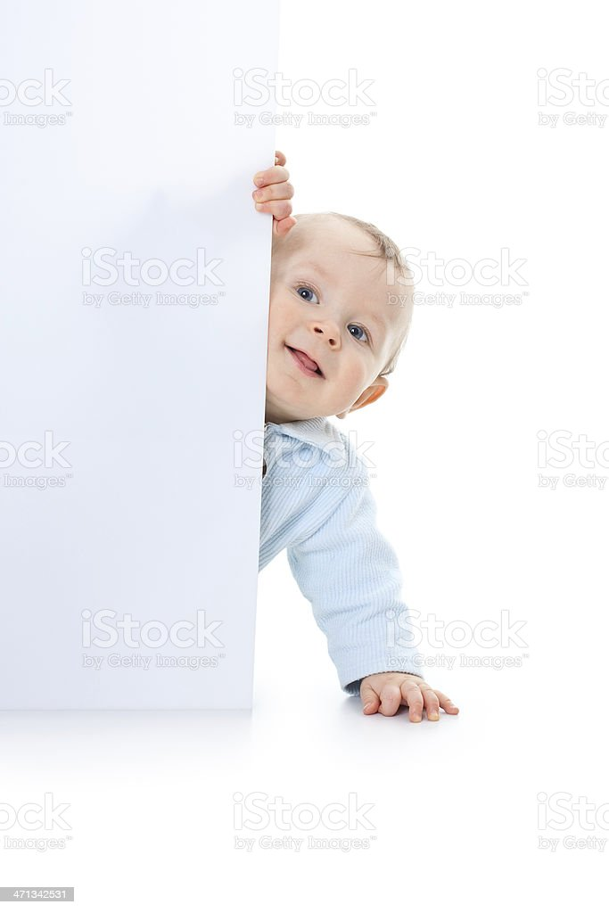 small happy baby royalty-free stock photo