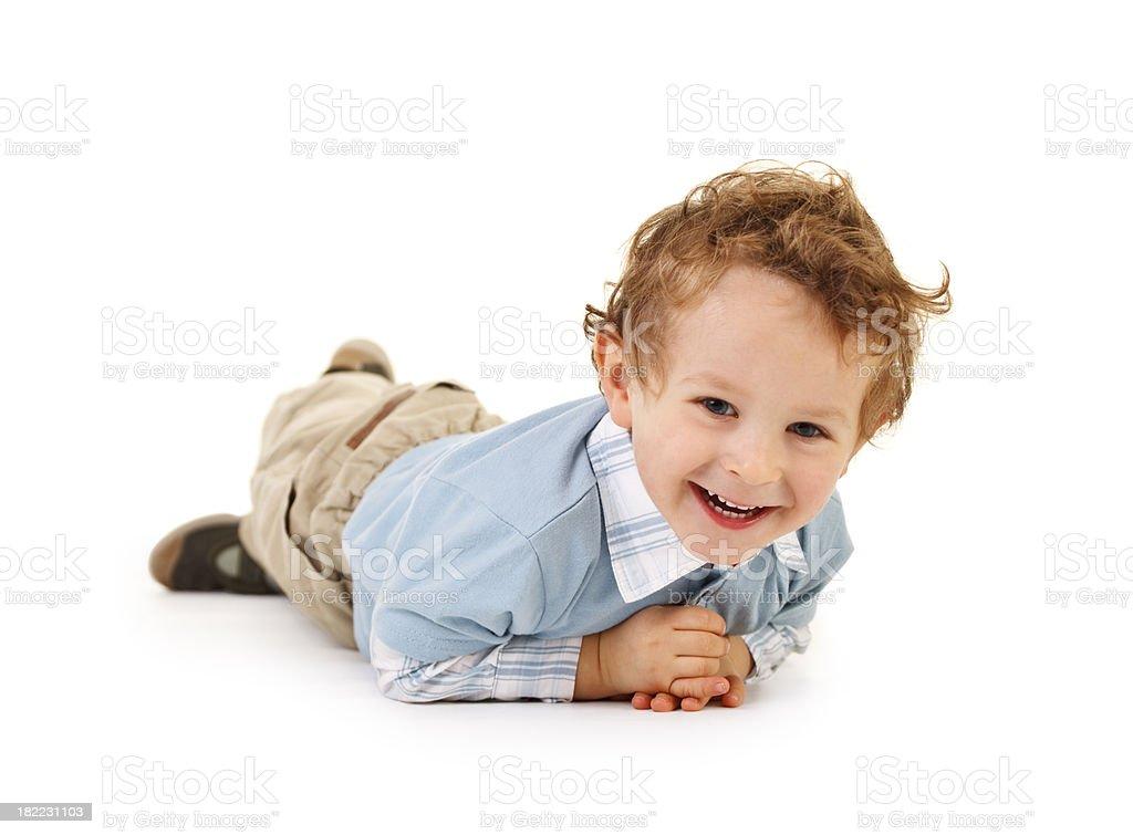 small happy boy royalty-free stock photo