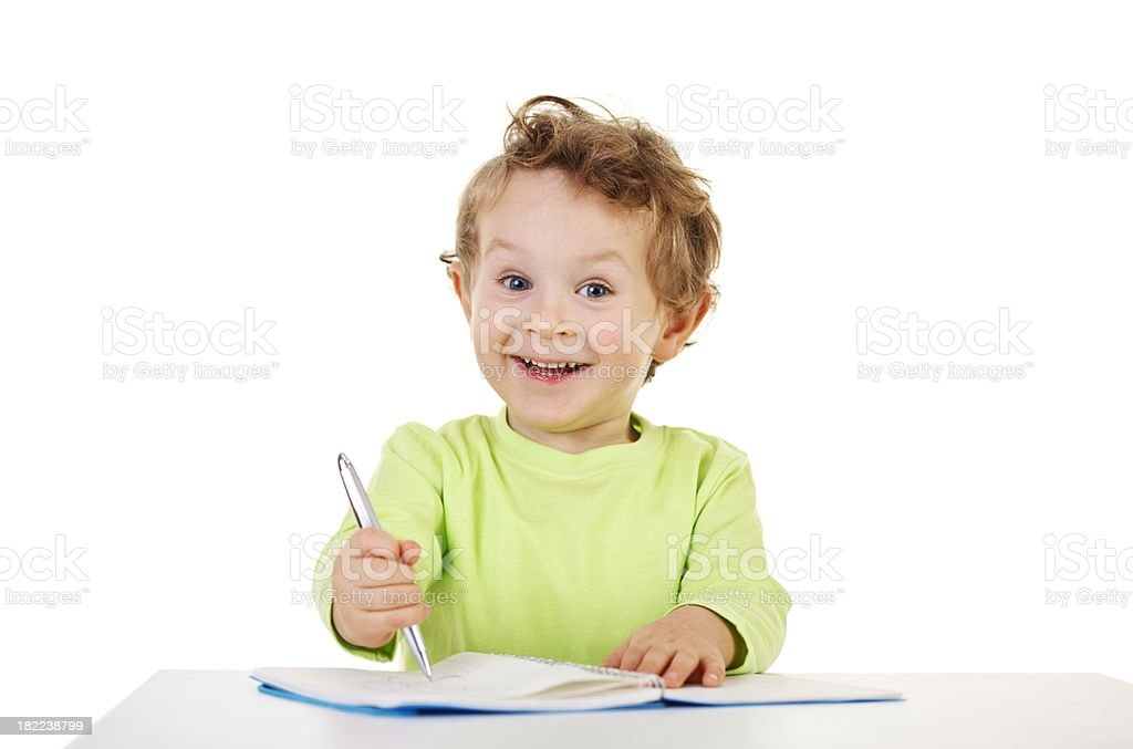 small happy boy royalty-free stock photo
