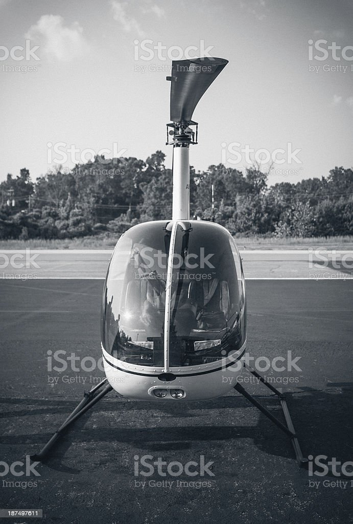 Small Helicpoter royalty-free stock photo