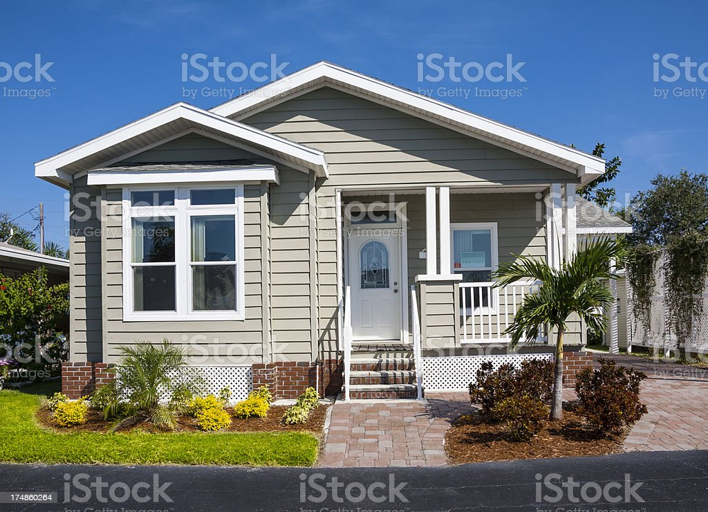 Small House stock photo