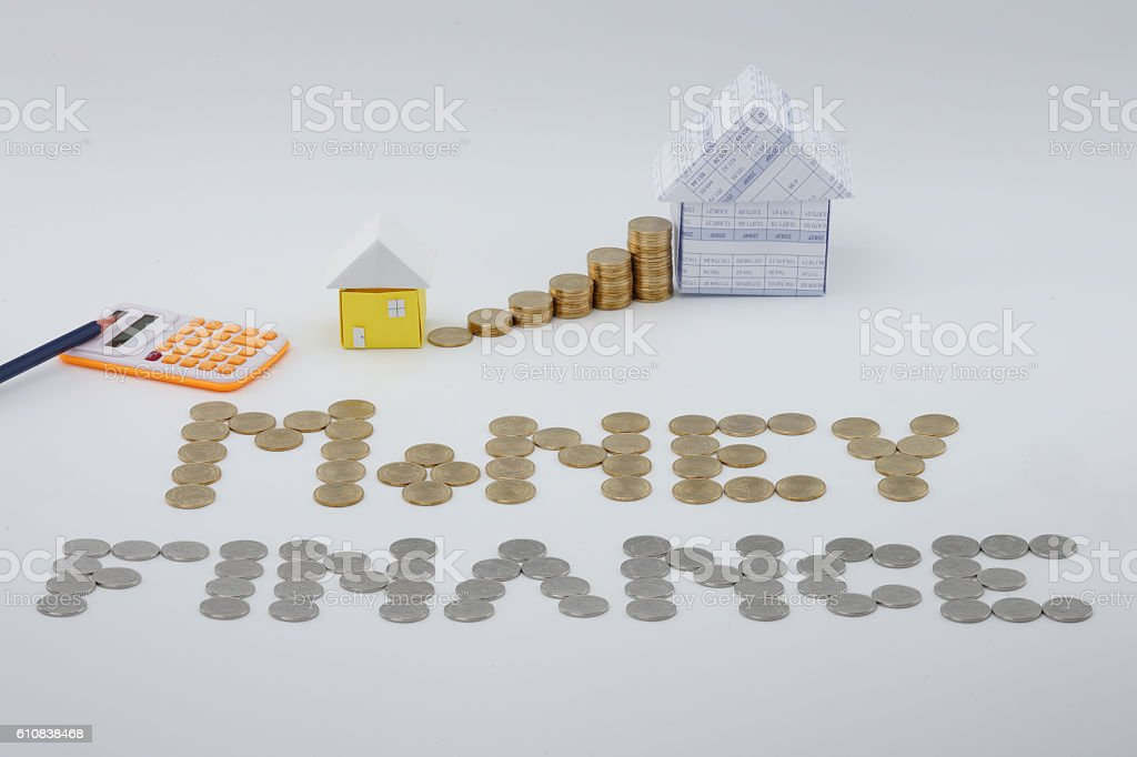 Small house to put into the main house royalty-free stock photo