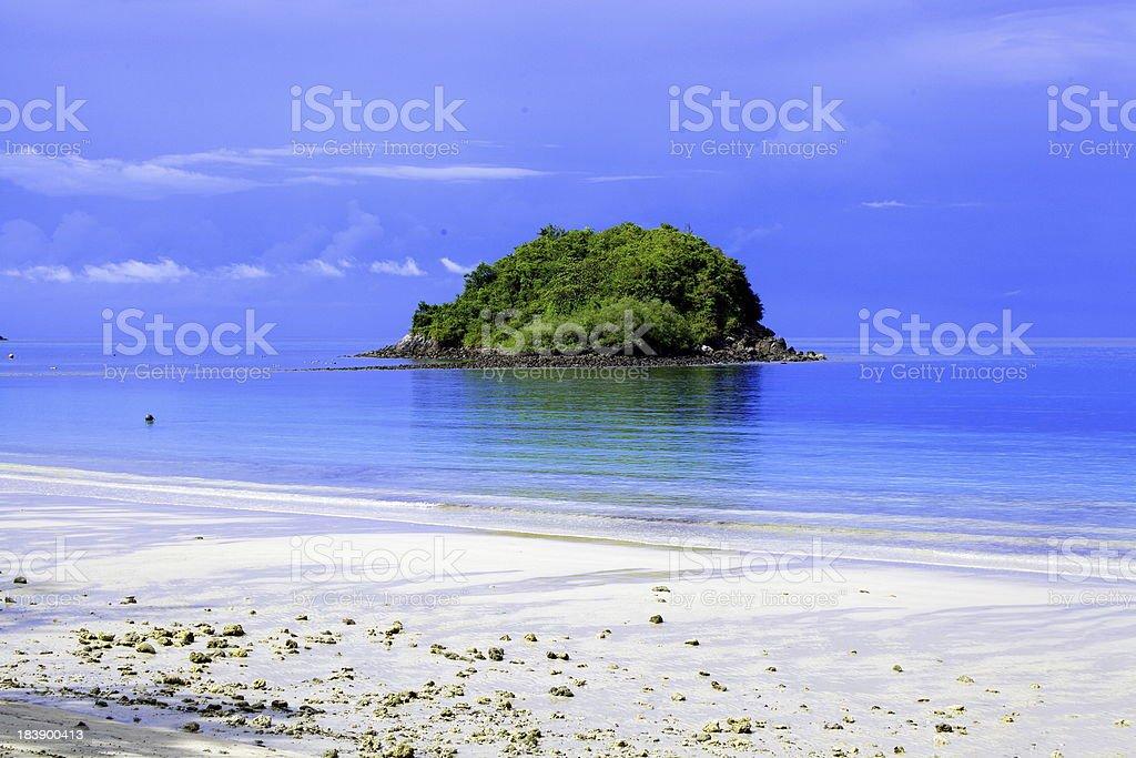 small island royalty-free stock photo