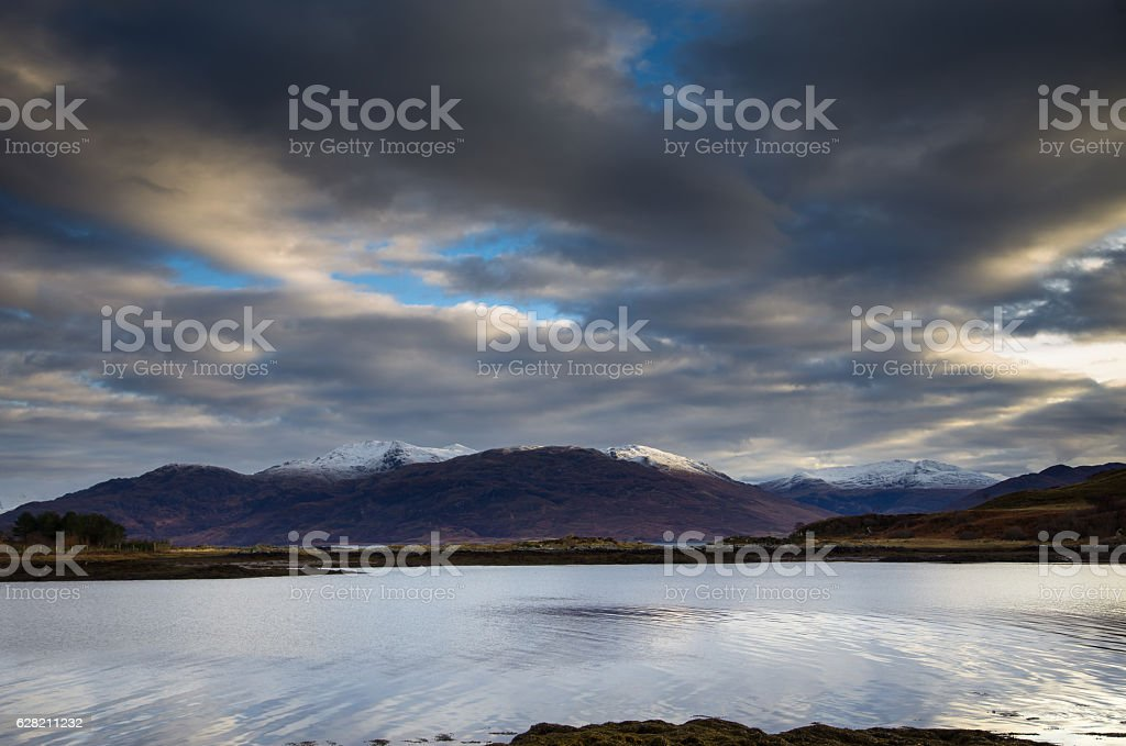 Small Islet off the Isle of Skye stock photo