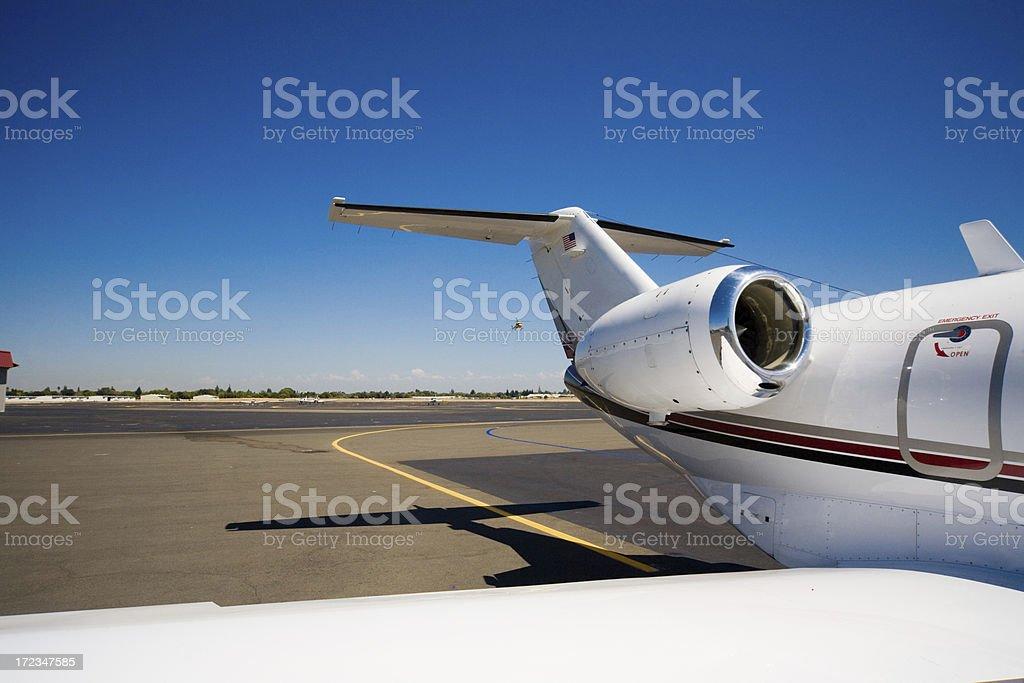 Small Jet Engine royalty-free stock photo