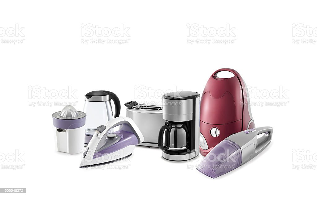 Small Kitchen Appliances stock photo