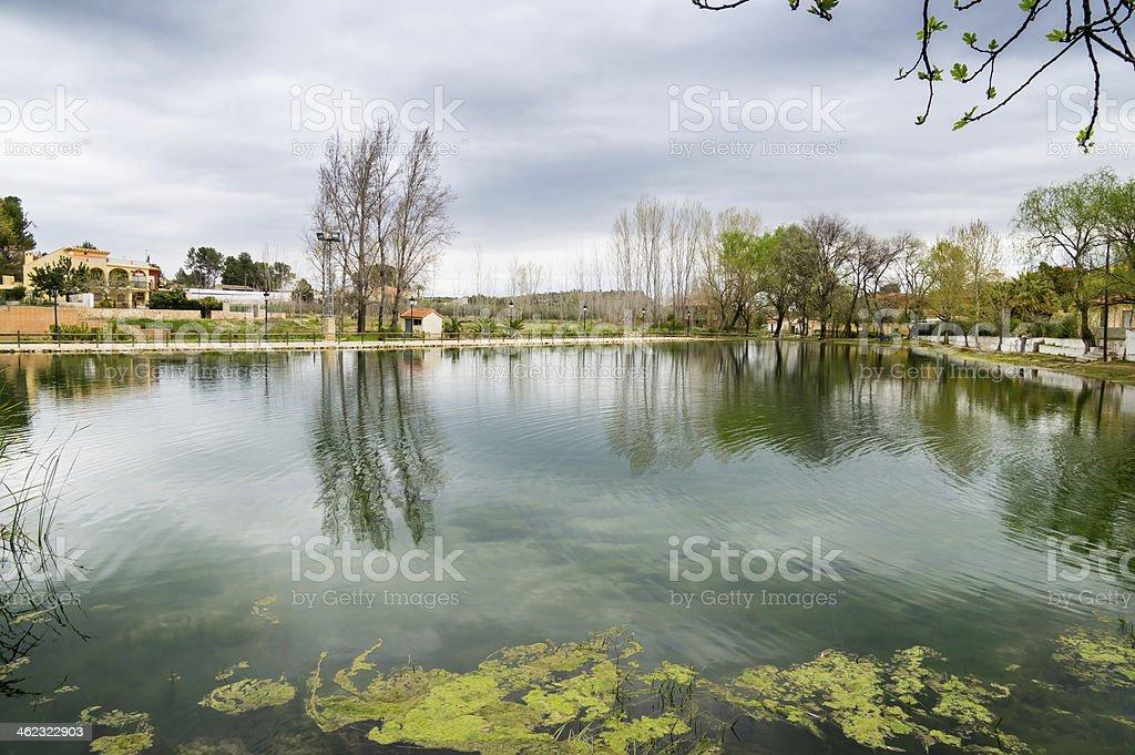small lake stock photo