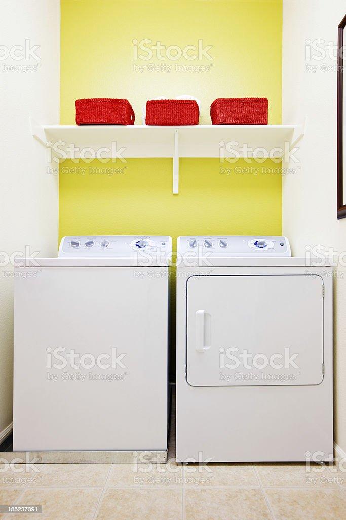 Small Laundry Room stock photo