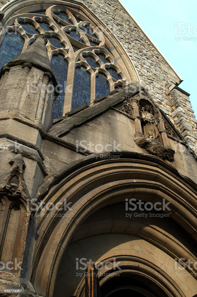 Small London Chapel stock photo