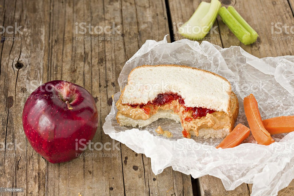 Small Lunch royalty-free stock photo