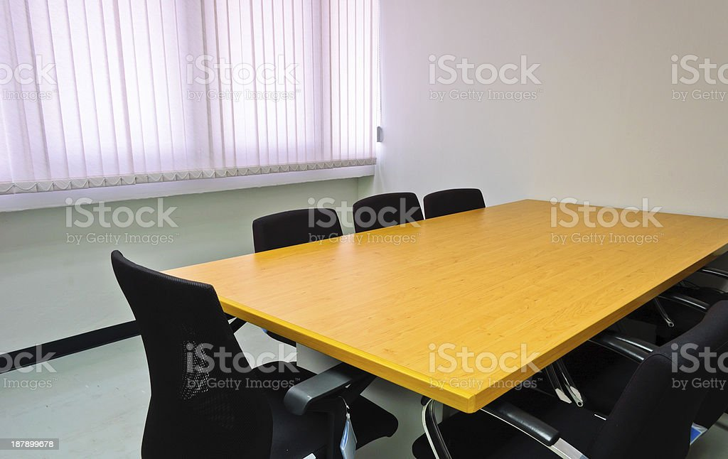 Small meeting room royalty-free stock photo