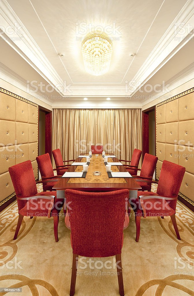 small meeting room stock photo