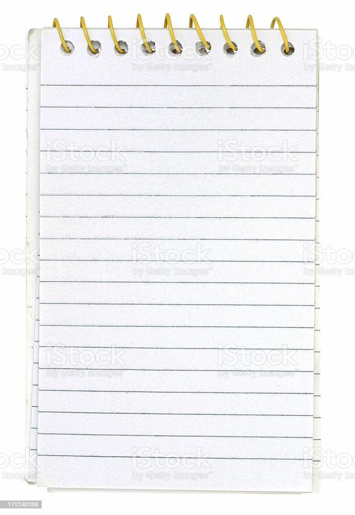 Small Memo Notepad royalty-free stock photo