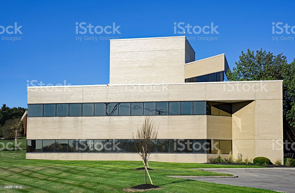 Small Modern Office Building stock photo