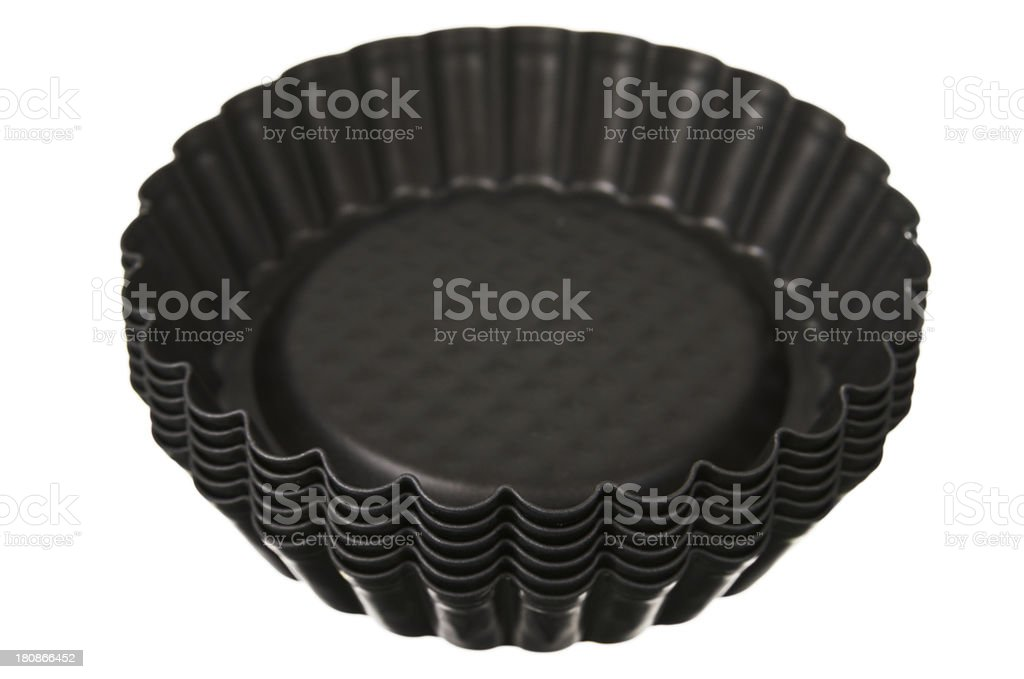 Small Non Stick Bakiing Trays stock photo