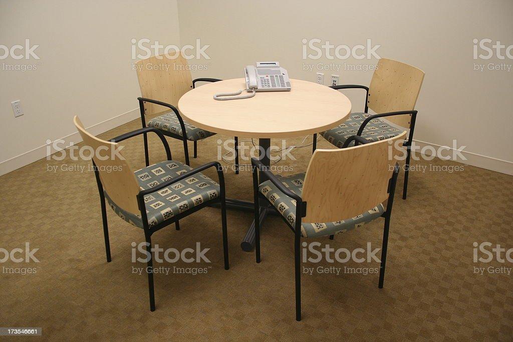 Petite salle de conférence du bureau photo libre de droits