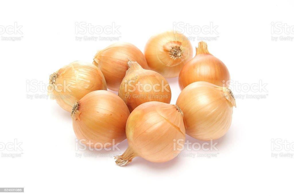 Small onions stock photo