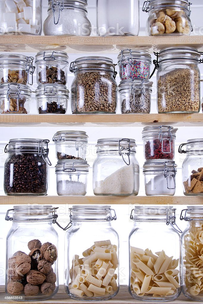 Small Pantry stock photo