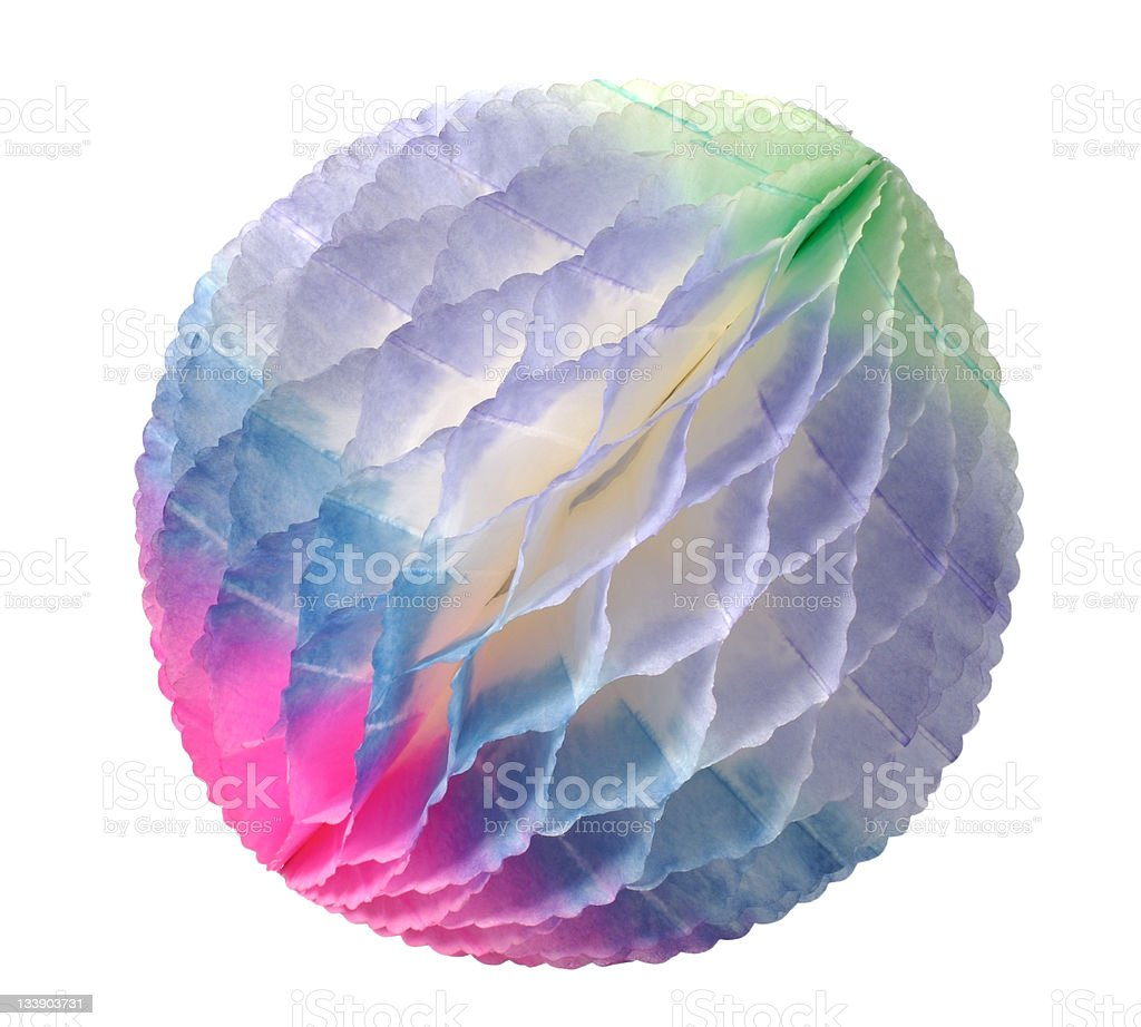 Small paper ball royalty-free stock photo