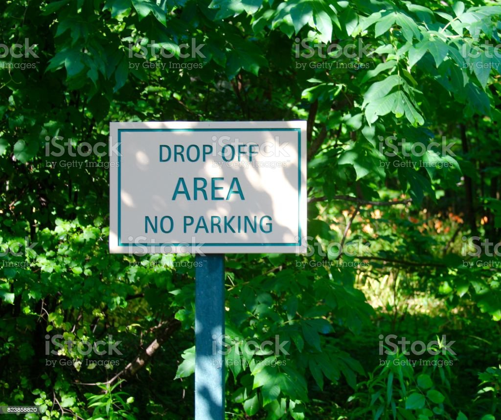 Small Park Sign stock photo