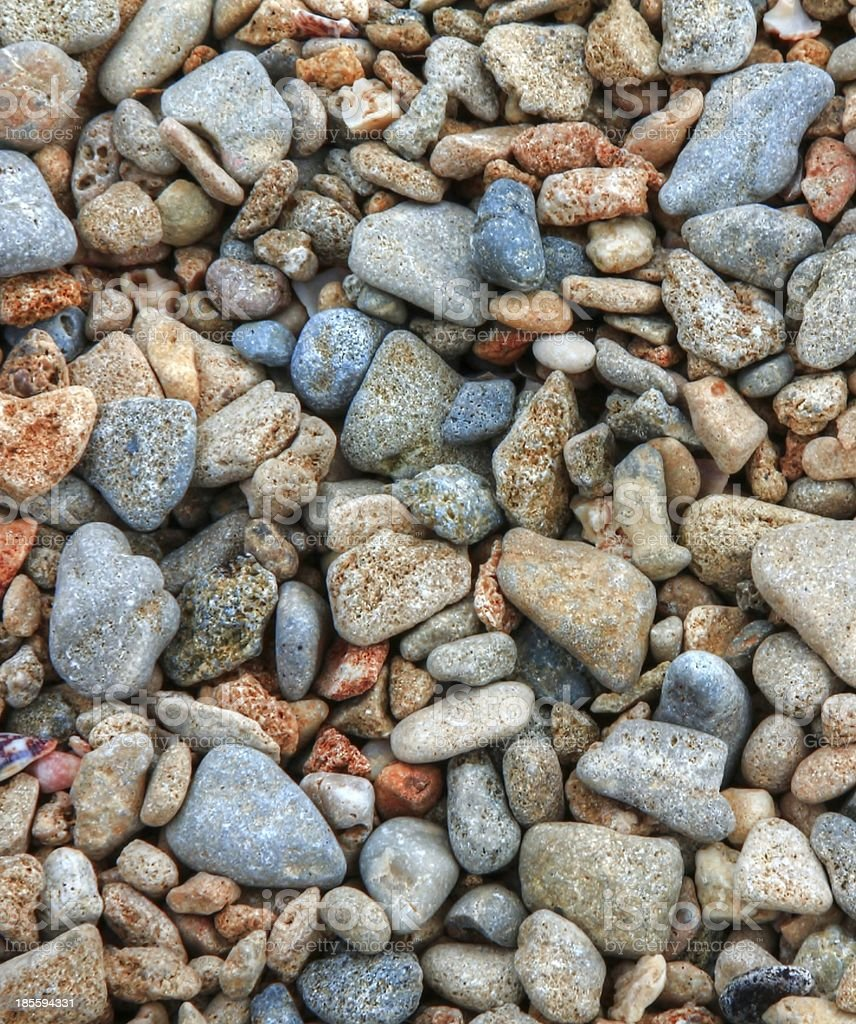 Small pebble background royalty-free stock photo