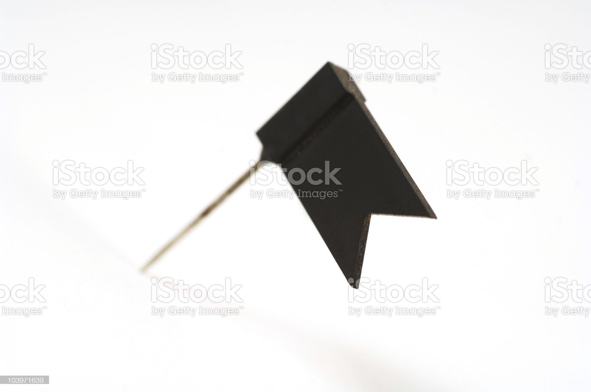 Small pin royalty-free stock photo