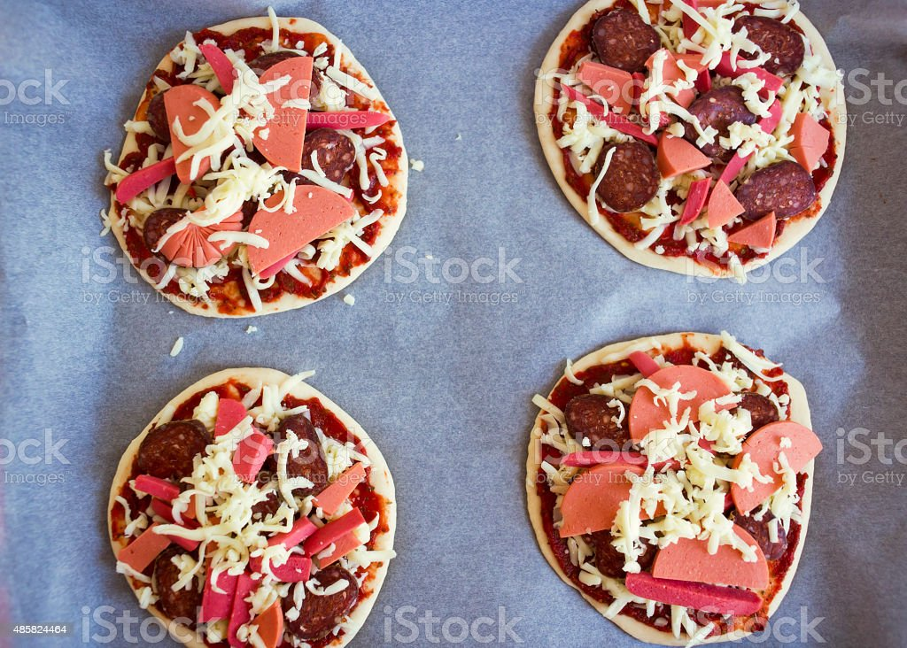 small pizza stock photo