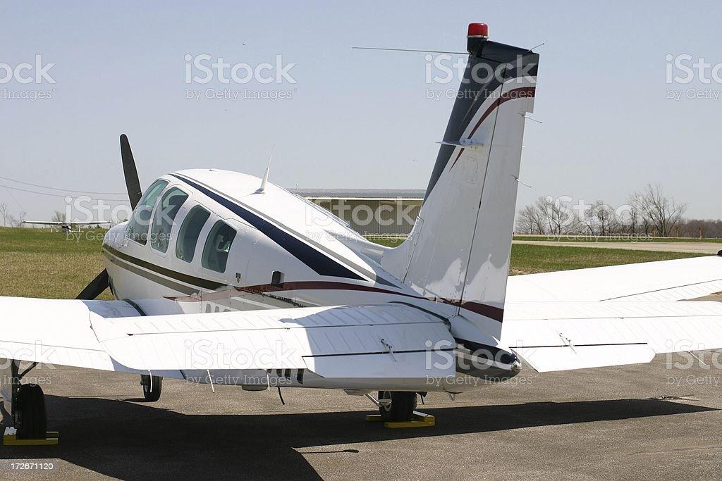 Small plane royalty-free stock photo
