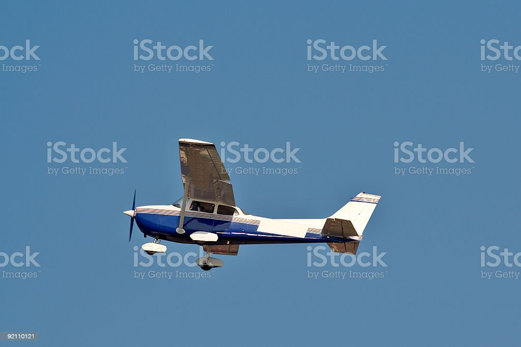 Small plane royalty-free stock photo