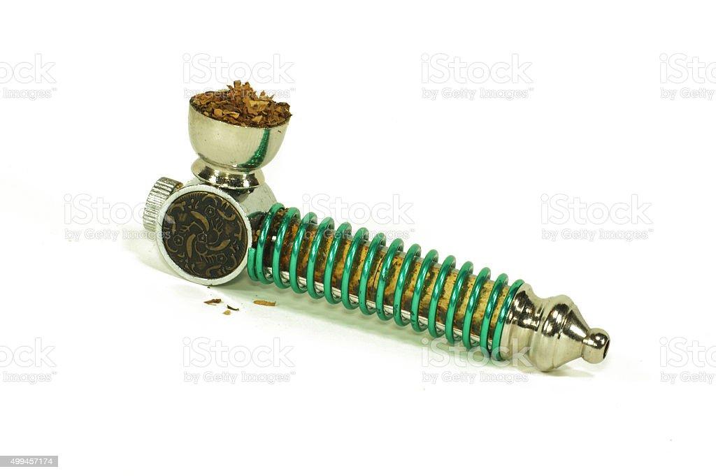 Small pocket pipe stock photo