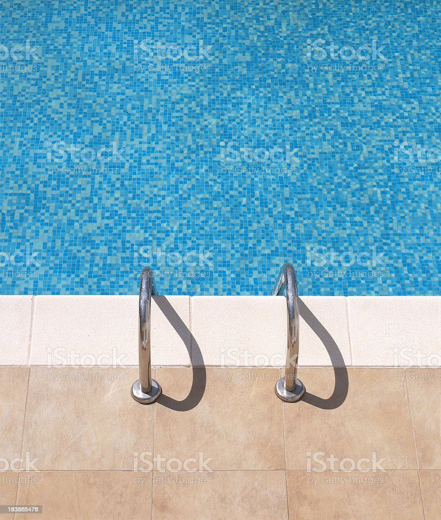 Small Pool detail stock photo