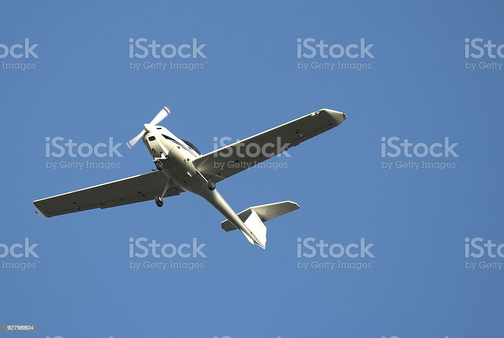 Small Private Aircraft royalty-free stock photo