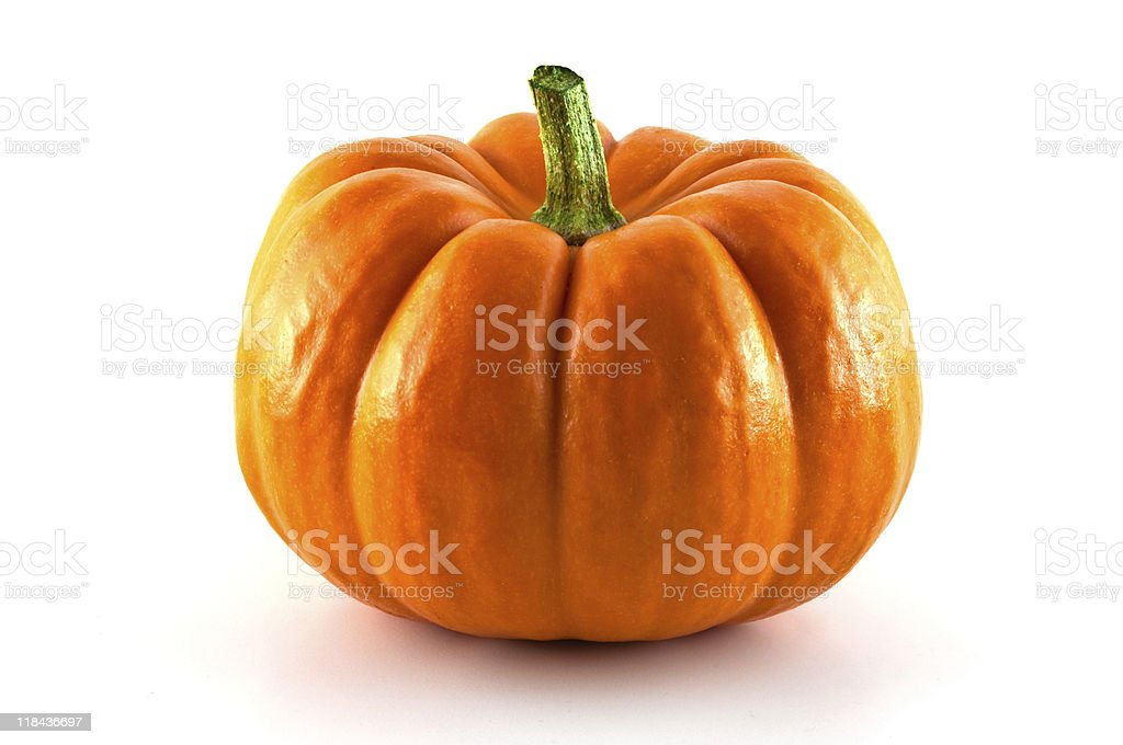 Small pumpkin stock photo