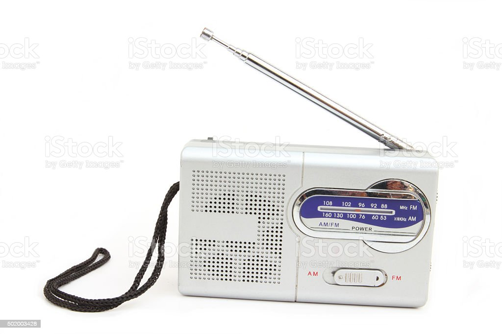 Small radio stock photo