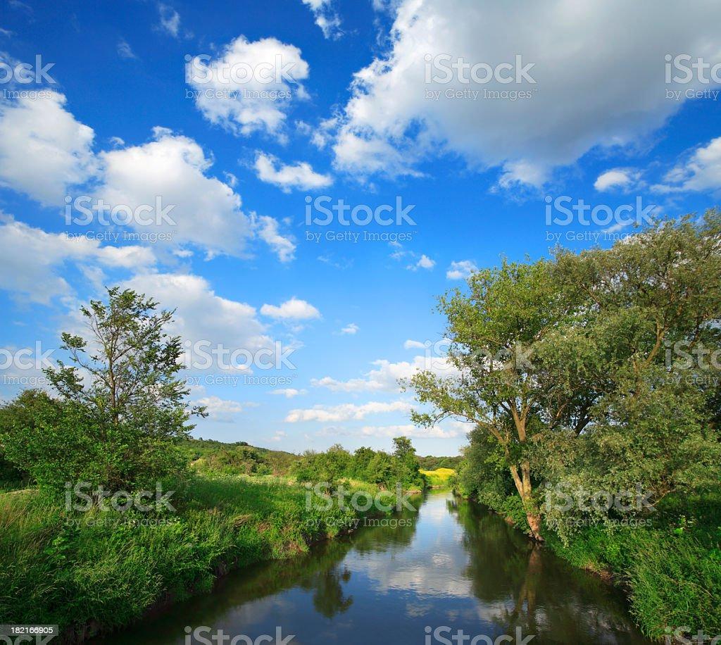 Small River royalty-free stock photo