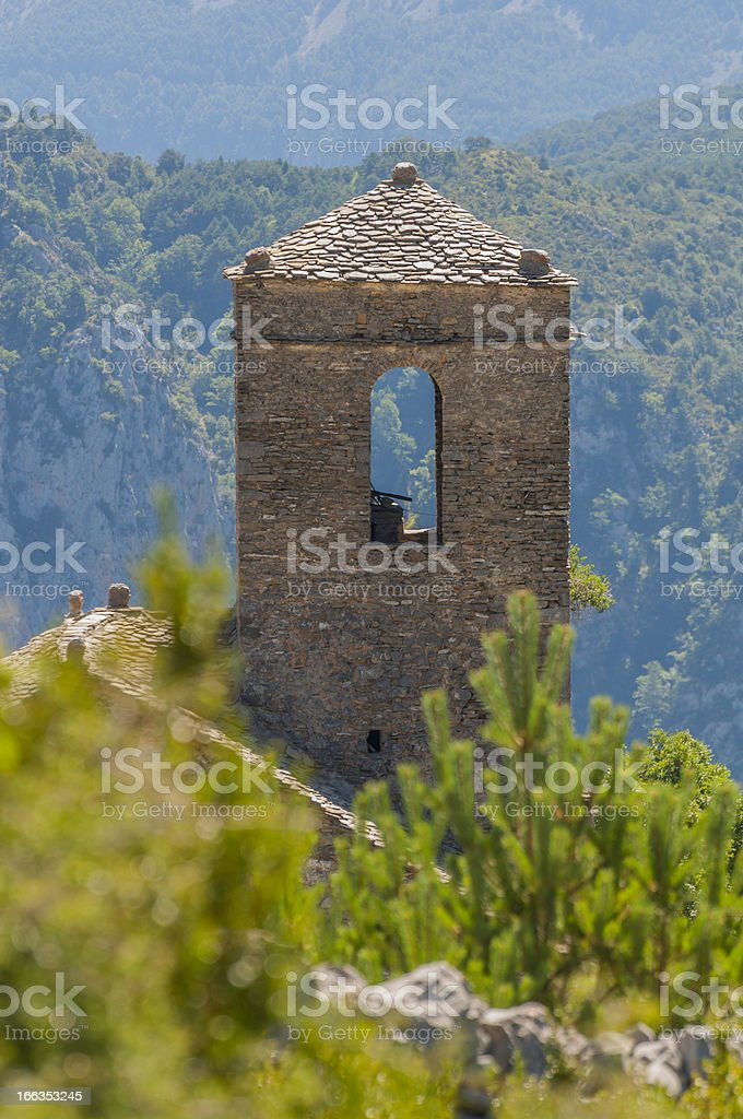 Small Romanesque Church royalty-free stock photo