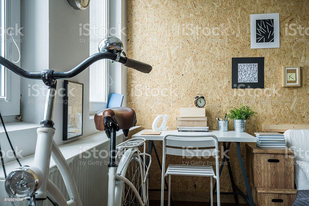 Small room arrangement stock photo