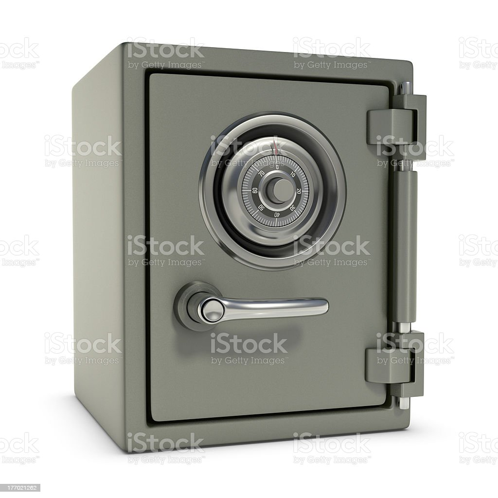 Small Safe stock photo