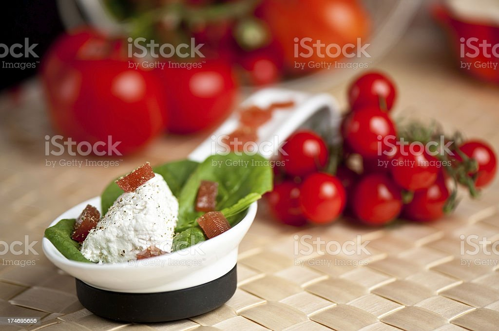 Small salat royalty-free stock photo