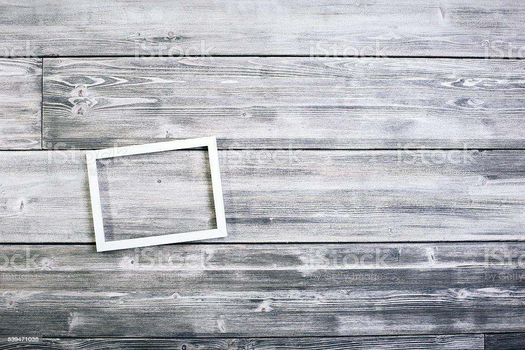 Small see through frame stock photo