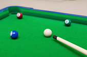 small snooker toy set for children
