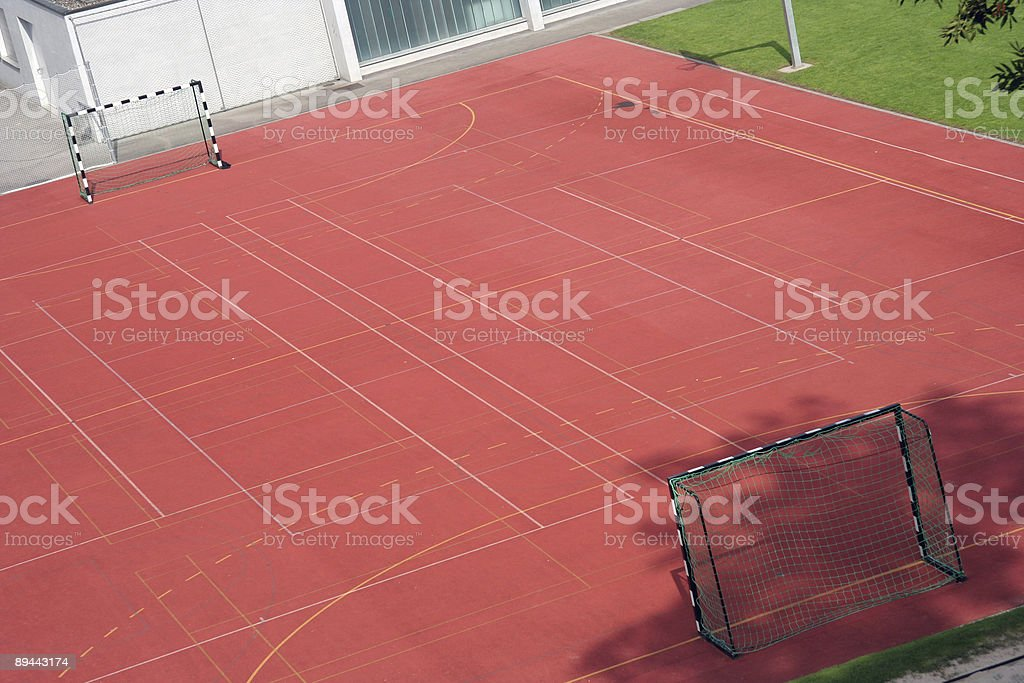 Small soccer field royalty-free stock photo