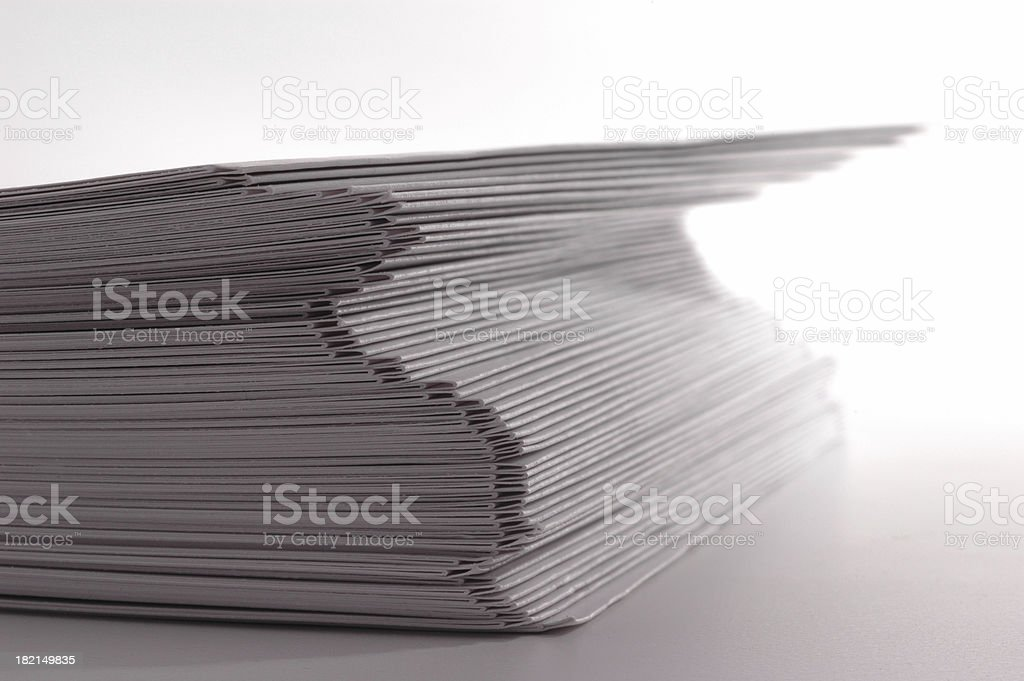 small stack royalty-free stock photo