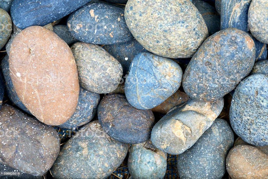 Small stone stock photo
