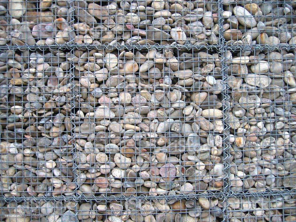 Small Stone Wall stock photo