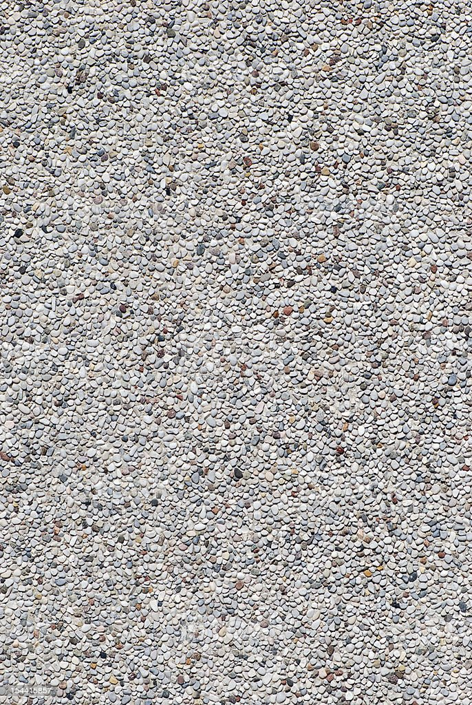 Small stones gravel wall texture royalty-free stock photo