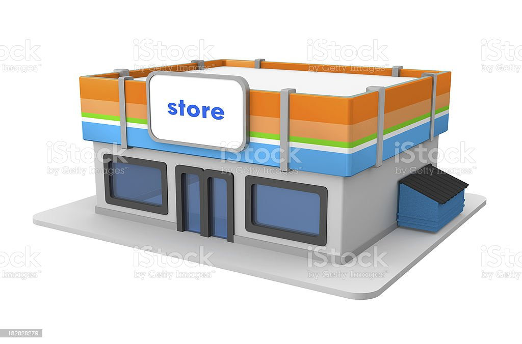 Small Store royalty-free stock photo