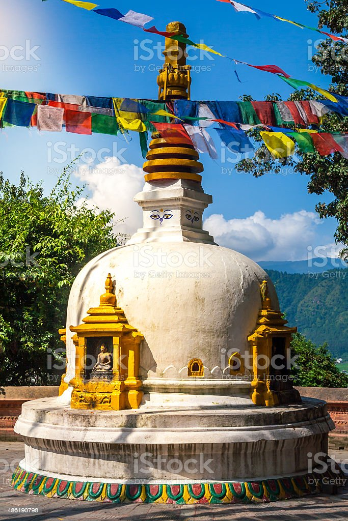 Small Stupa stock photo